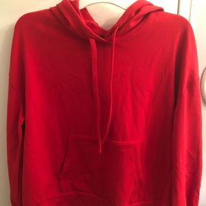 WWW Red Pullover Sweater